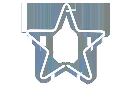 Evergreen talents logo white transp 400 no slogan