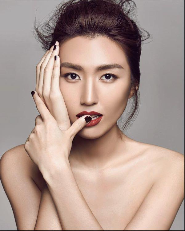 asia female model malaysia