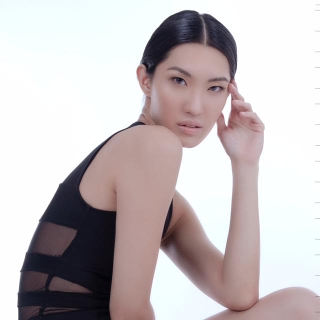 asia female model