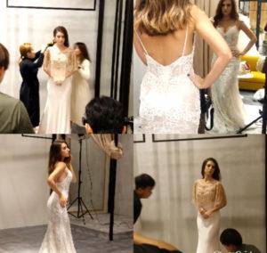 bridal shoot models