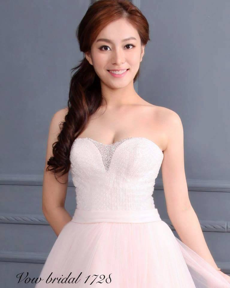 chinese bridal model