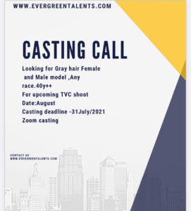 Modeling Agency Casting Call