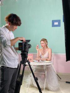 model ad shoot 01