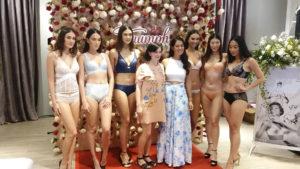 triumph lingerie models